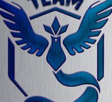Team Mystic Pokedex Sticker