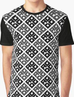 AGDG - Logo Pattern (Black) Graphic T-Shirt