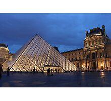 Pyramid du Louvre 2 Photographic Print