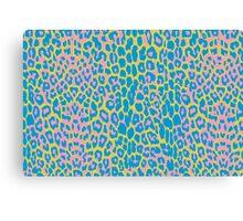 Rainbow Cheetah Print Canvas Print
