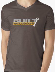Built Not Bought (5) Mens V-Neck T-Shirt