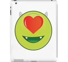 Romantic mike Wazowski iPad Case/Skin