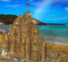 Tropical Sandcastle by Alixandra Mullins