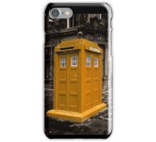 Golden Tardis  iPhone Case/Skin
