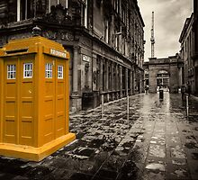 Golden Tardis  by Rob Hawkins
