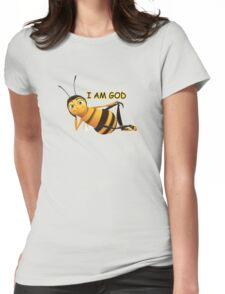 Barry B. Benson is GOD. Womens Fitted T-Shirt