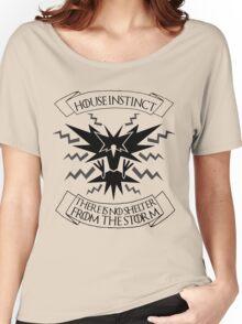 House Instinct Women's Relaxed Fit T-Shirt