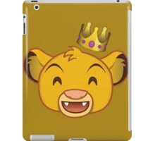 I Just Can't Wait to be King iPad Case/Skin
