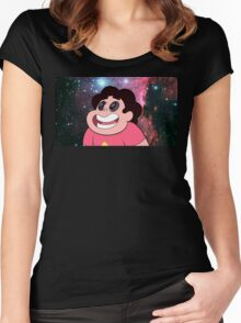 Steven Universe - Through The Eyes Women's Fitted Scoop T-Shirt