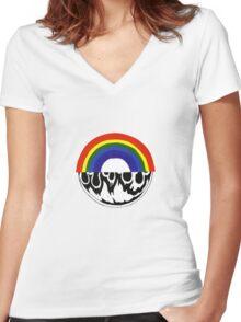 Bon Iver Women's Fitted V-Neck T-Shirt