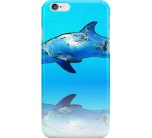 Dolphin in the sea iPhone Case/Skin