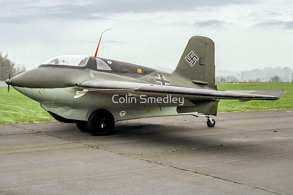 Messerschmitt Me163B Komet 191904 by Colin Smedley