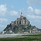 Mont Saint-Michel by Trish Meyer