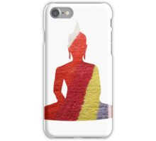 Stripy Buddha iPhone Case/Skin