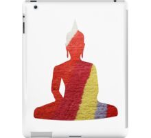 Stripy Buddha iPad Case/Skin