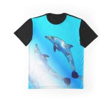 Dolphins in the sea Graphic T-Shirt