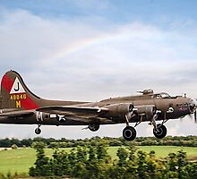 "Boeing B-17G Fortress II F-AZDX ""Pink Lady"" by Colin Smedley"