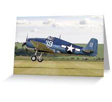 Grumman F6F-5K Hellcat 80141/19 G-BTCC Greeting Card