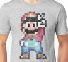 Mario World Vintage Pixels Victory Unisex T-Shirt