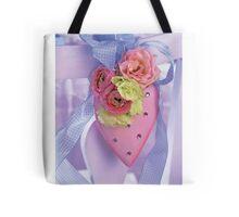 Pink Heart (unframed) Tote Bag