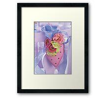 Pink Heart (unframed) Framed Print