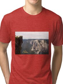 Yosemite El Capitan  Tri-blend T-Shirt