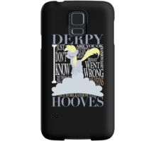 The Many Words of Derpy Samsung Galaxy Case/Skin