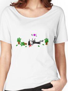 kitty yarn shirt Women's Relaxed Fit T-Shirt