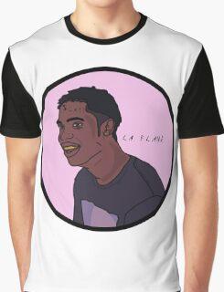 La Flame Cartoon Graphic T-Shirt