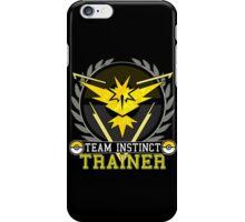 Team Instinct - Pokemon Go iPhone Case/Skin