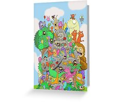 All Kinds of Critters Greeting Card