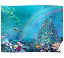 Undersea Castle Poster