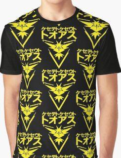 TEAM INSTINCT LOGO STREET - POKEMON GO- GRAPHIC T-SHIRT- YELLOW Graphic T-Shirt