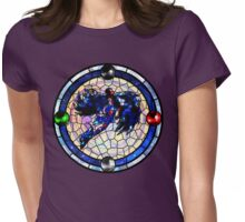 Bayonetta 2: Stained Glass  Womens Fitted T-Shirt