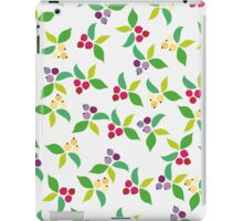 Background berry grey iPad Case/Skin