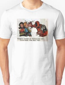 Deadpool Vegan Unisex T-Shirt