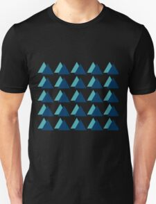 Triangle Forest Unisex T-Shirt
