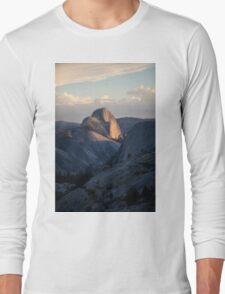 Half Dome at Yosemite National Park Long Sleeve T-Shirt