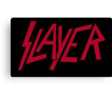 Slayer logo Canvas Print