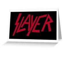 Slayer logo Greeting Card