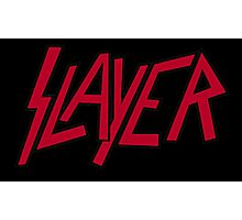Slayer logo Photographic Print