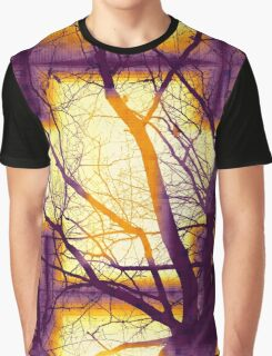 Harmonious Colors - Violet Yellow Orange Graphic T-Shirt