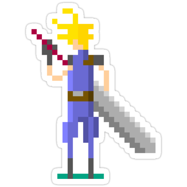Pixel Cloud by jackfords