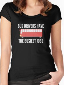 Busiest Jobs Women's Fitted Scoop T-Shirt