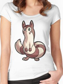 Furret Women's Fitted Scoop T-Shirt