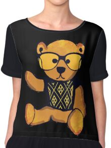 Geek Bear Chiffon Top