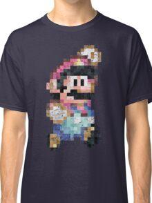 Mario World Jump Vintage Pixels Classic T-Shirt