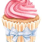 Pink Cupcake by LCWaterworth