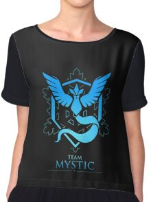TEAM MYSTIC - T-Shirt / Phone Case / Mug / More Chiffon Top