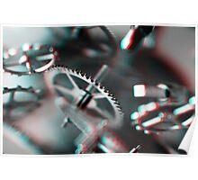 Exploding Clockwork #1 (3D) Poster